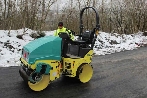 Ammann ARX16 Roller available from Dennis Barnfield Ltd, plant machinery sales in the North West since 1964!