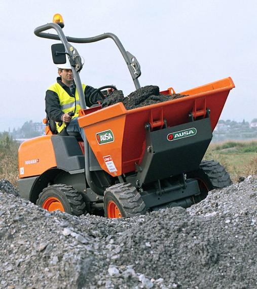 Ausa D100 Dumper available from Dennis Barnfield Ltd, plant machinery sales in the North West since 1964!