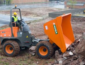Ausa D1000 Dumper available from Dennis Barnfield Ltd, plant machinery sales in the North West since 1964!