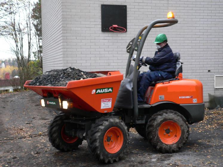 Ausa D150 Dumper available from Dennis Barnfield Ltd, plant machinery sales in the North West since 1964!