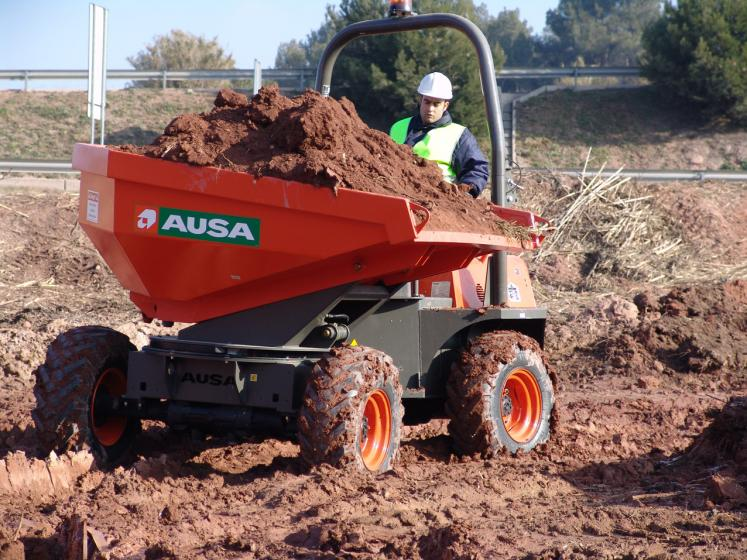 Ausa D250 Dumper available from Dennis Barnfield Ltd, plant machinery sales in the North West since 1964!