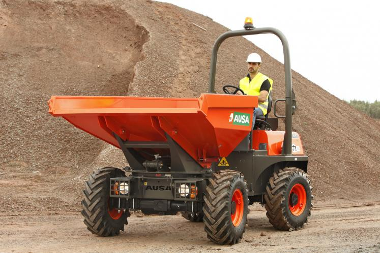 Ausa D350 Dumper available from Dennis Barnfield Ltd, plant machinery sales in the North West since 1964!