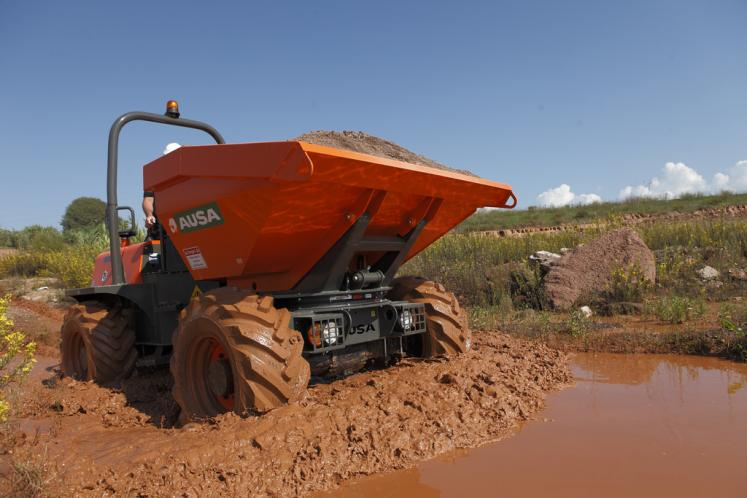 Ausa D600 Dumper available from Dennis Barnfield Ltd, plant machinery sales in the North West since 1964!