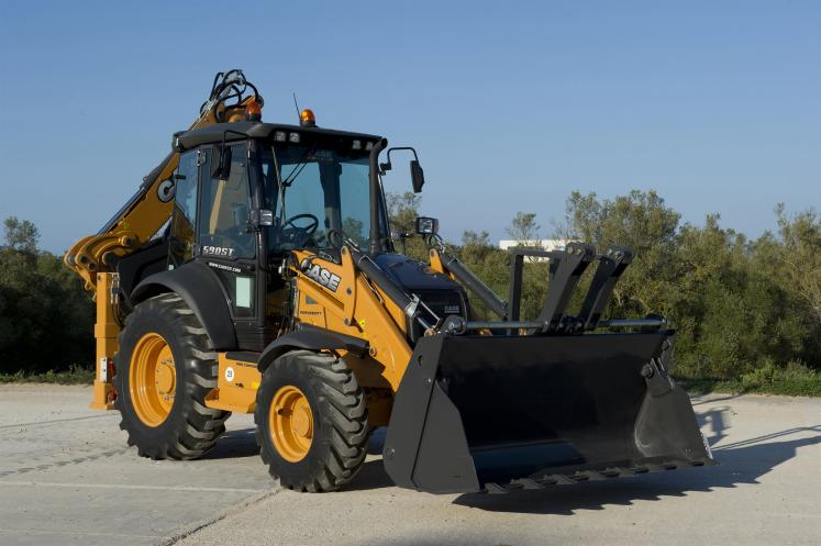 Case 590ST Backhoe Loader available from Dennis Barnfield Ltd in Lancashire