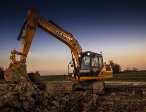 Case CX160D Crawler Excavator