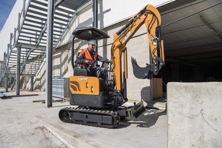 Case CX17C Mini Excavator available from Dennis Barnfield Ltd. Plant Machinery sales in the North West since 1964.
