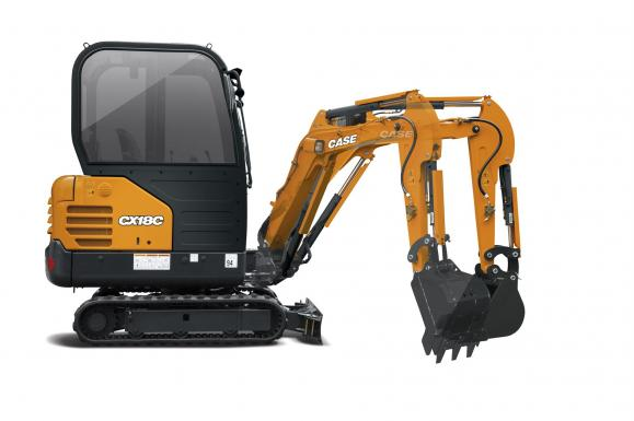 Case CX18C Mini Excavator available from Dennis Barnfield Ltd. Plant machinery sales in the North West since 1964!