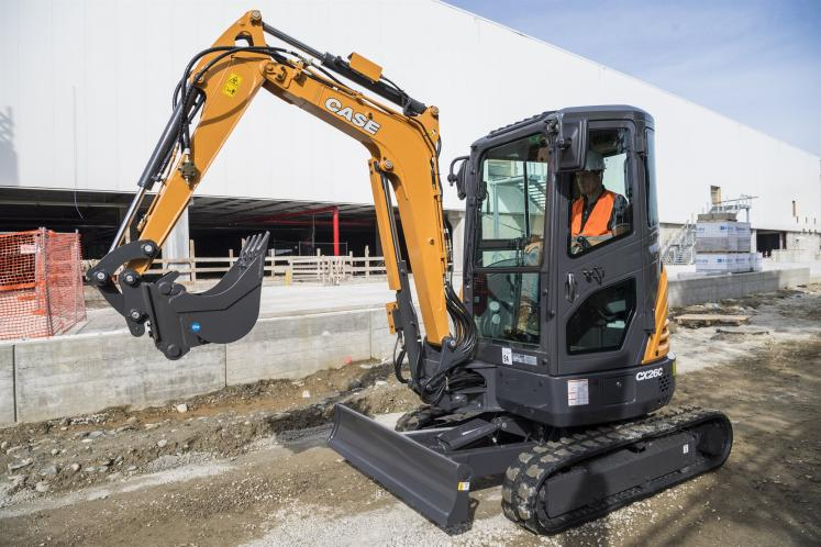 Case CX26C Mini Excavator available at Dennis Barnfield Ltd, Plant Machinery sales in the North West since 1964.