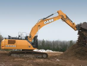 Case CX350D Crawler Excavator
