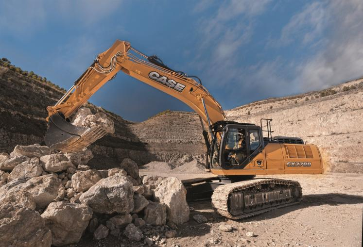 Case CX370D Crawler Excavator
