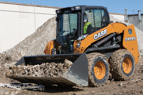 Case SV185 Skidsteer Loader available from Dennis Barnfield Ltd, plant machinery sales in the North West since 1964!