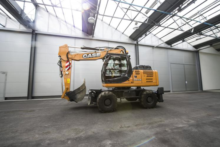 Case WX168 Wheeled Excavator available from Dennis Barnfield Ltd, plant machinery sales in the North West since 1964!