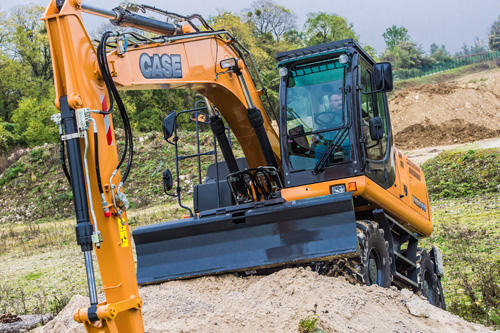 Case WX218 Wheeled Excavator available from Dennis Barnfield Ltd, plant machinery sales in the North West since 1964!
