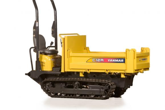 Yanmar C12R-B Tracked Dumper available from Dennis Barnfield Ltd