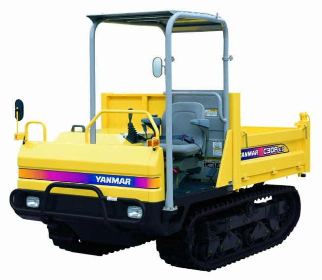 Yanmar C30R-2B Tracked Dumper available from Dennis Barnfield Ltd