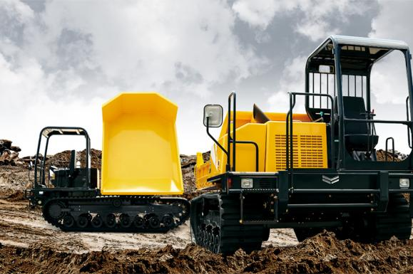 Yanmar C50R-5 Tracked Dumper available from Dennis Barnfield Ltd. Supplying plant machinery since 1964!