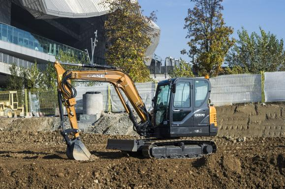 Case CX57C Mini Excavator available from Dennis Barnfield Ltd, plant machinery sales in the North West since 1964!