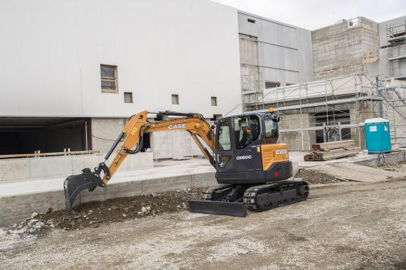 Case CX60C Mini Excavator available from Dennis Barnfield Ltd, plant machinery sales in the North West since 1964!