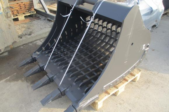 Digger Bucket and Excavator Riddle Buckets and Ditching Buckets available from Dennis Barnfield Ltd
