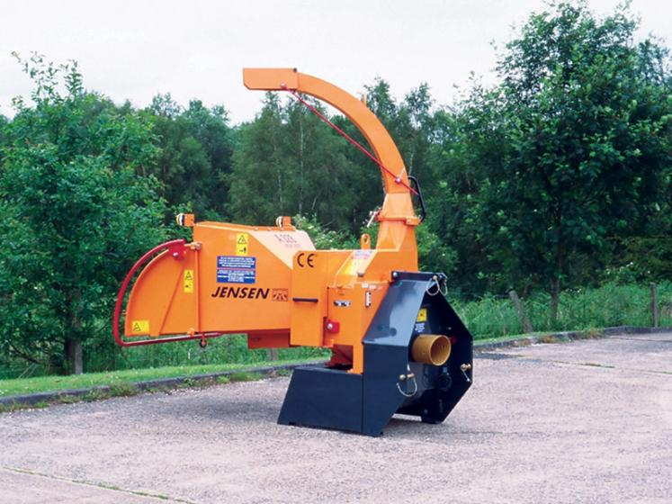 Jensen A328 PTO Chipper available from Dennis Barnfield Ltd. Machinery sales in North West since 1964!