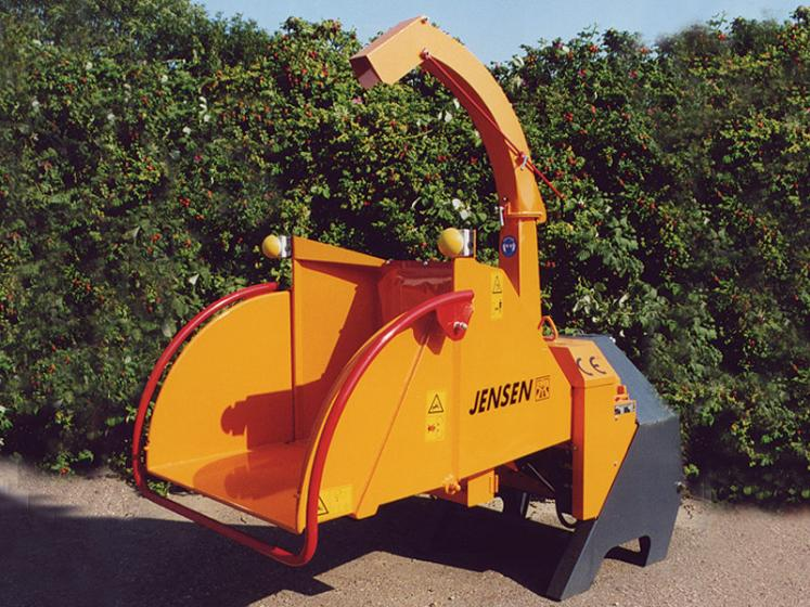 Jensen A540 PTO Chipper available from Dennis Barnfield Ltd. Machinery sales in North West since 1964!