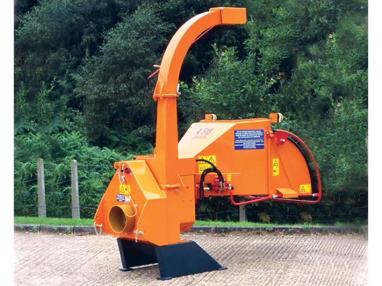 Jensen A530 PTO Chipper available from Dennis Barnfield Ltd. Machinery sales in North West since 1964!