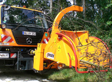 Jensen A530XL PTO Chipper available from Dennis Barnfield Ltd. Machinery sales in North West since 1964!