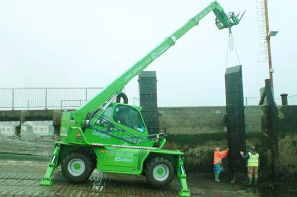 Merlo R38.16 Roto Telehandler available from Dennis Barnfield Ltd. Telehandler sales in Lancashire for over 50 years.