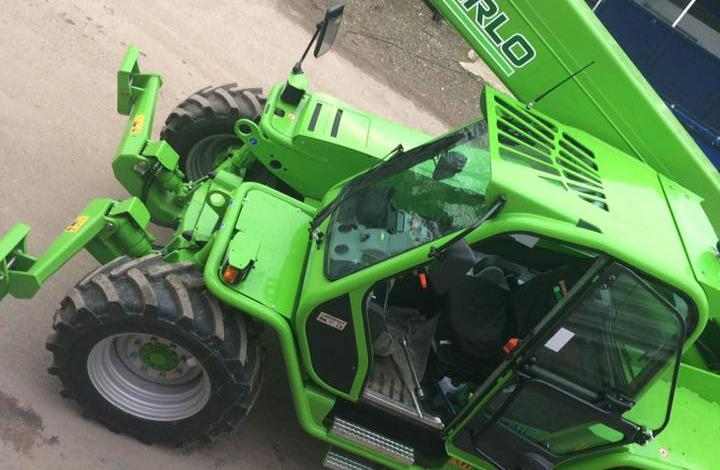 Merlo Telehandlers from Dennis Barnfield Ltd. Construction telehandlers in lancashire since 1964!