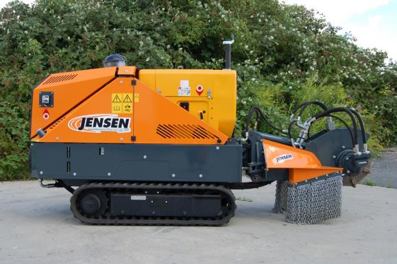 Jensen SCX50D Stump Grinder available from Dennis Barnfield Ltd, tracked chippers in Lancashire, Cumbria and the North West!