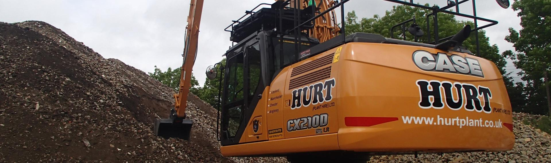 CASE Excavator in the North West