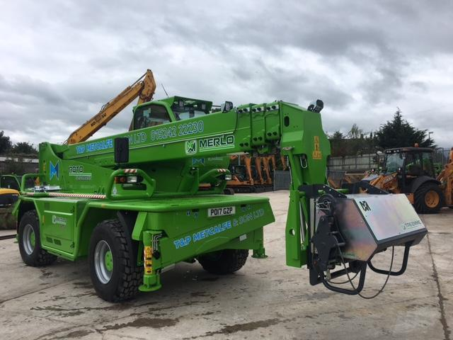 Merlo Roto Telehandler for sale in the UK. Merlo telehandler for sale. Telehandler for sale in Lancashire.