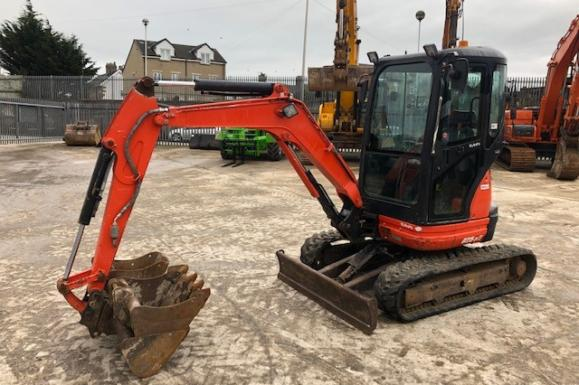 Used Kubota U25-3 Mini Digger