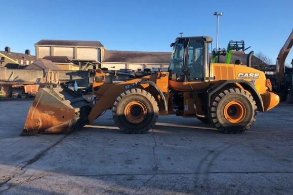 2015 Case 821F XR Wheel Loader