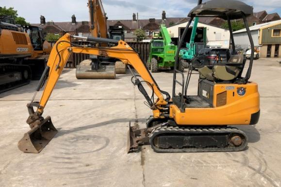 2011 Case CX18B Mini Excavator