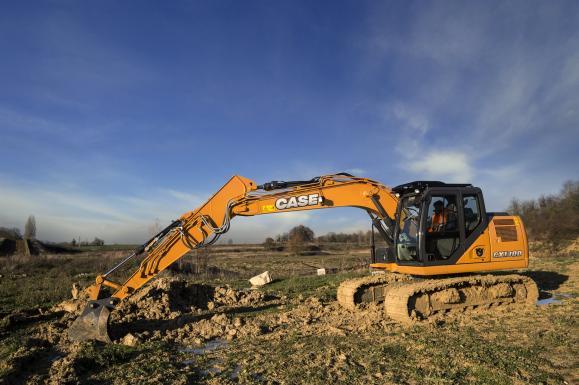 Case CX130D Crawler Excavator