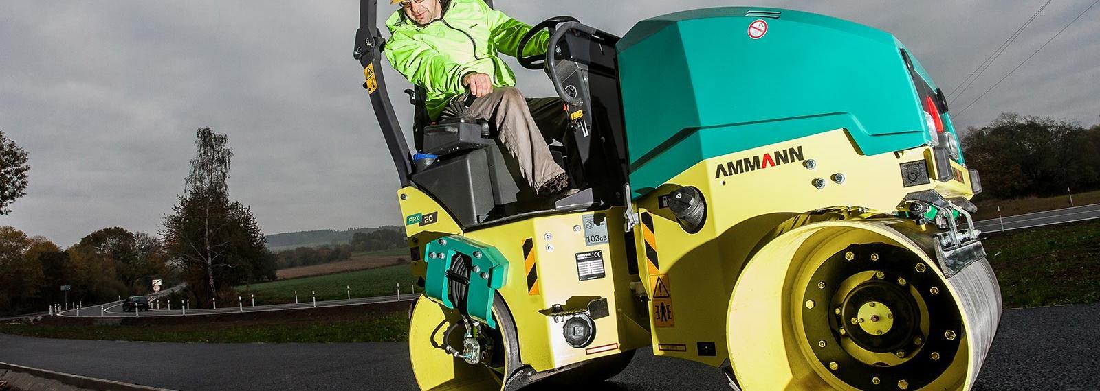 Ammann ARX20 Roller