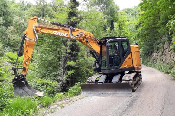 Case CX145D Crawler Excavator