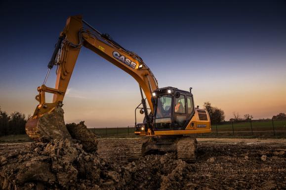 Case CX160D Crawler Excavator