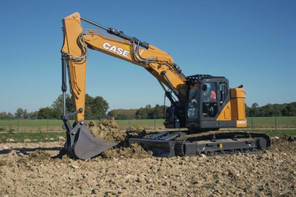 Case CX245D Crawler Excavator