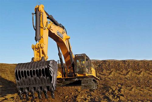 Case CX750D Crawler Excavator