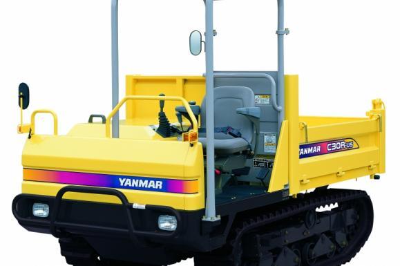 Yanmar C30R-2B Tracked Dumper available from Dennis Barnfield Ltd