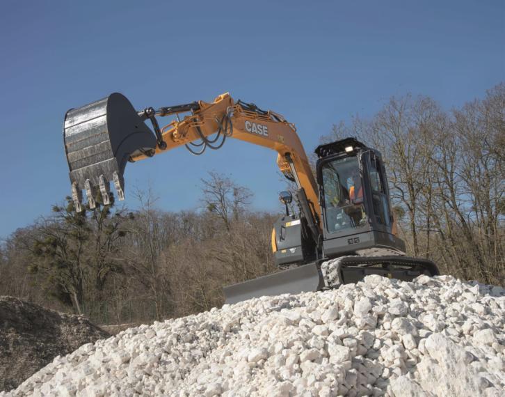 Case CX85D Midi Excavator