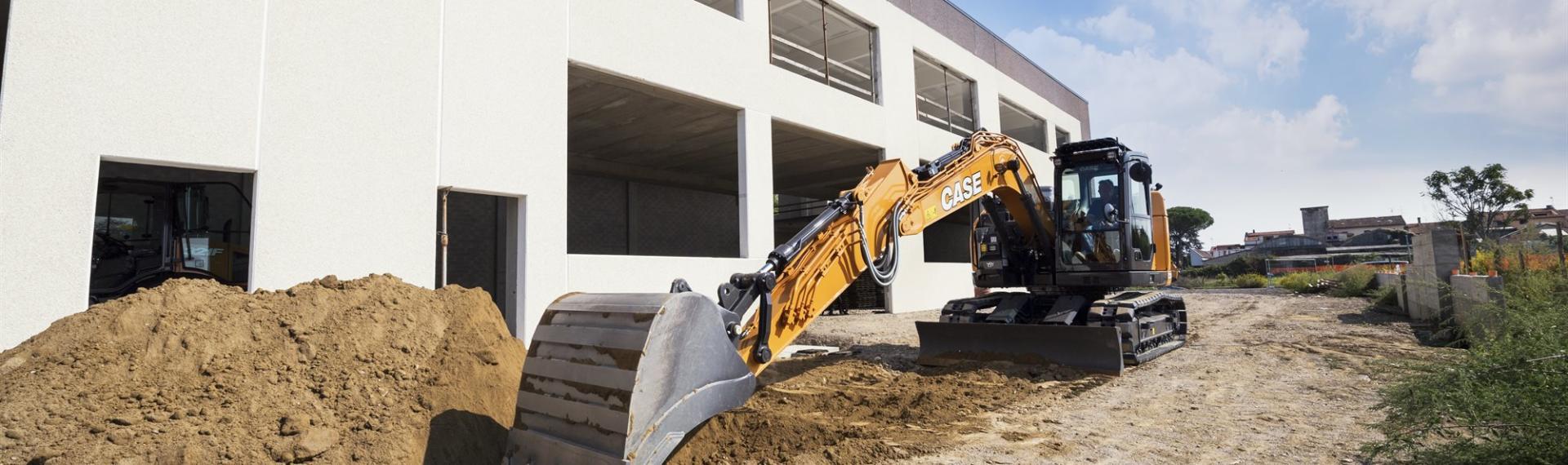 CASE CX145D Excavator Digger
