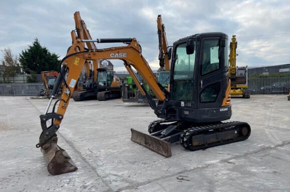 2020 CASE CX26C Mini Excavator